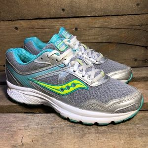 Saucony Cohesion 10 Silver Running Shoes